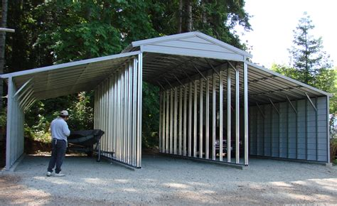 building garages and carports why west coast metal buildings is a preferred choice