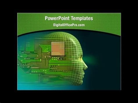 artificial intelligence powerpoint template backgrounds