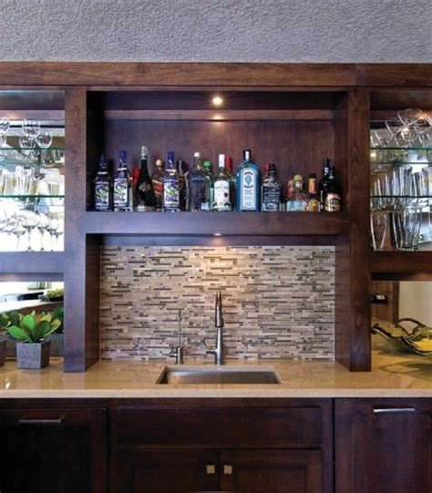 Home Bar Furniture With Sink by 34 Awesome Basement Bar Ideas And How To Make It With Low
