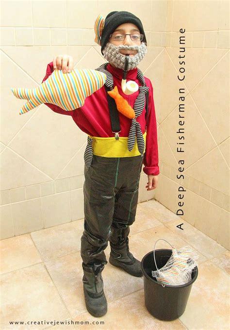 fisherman costume     creativity