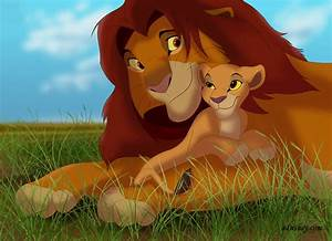 Simba and Kiara - The Lion King 2:Simba's Pride Photo ...