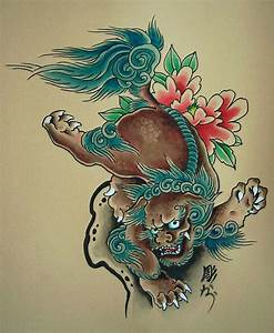 foo dog drawing - Google Search | tattoos | Pinterest ...