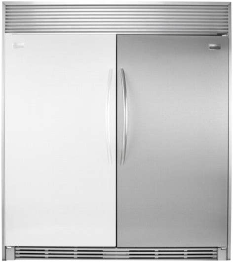 frigidaire plrh1779gs gallery series 17 cu ft upright counter depth all refrigerator