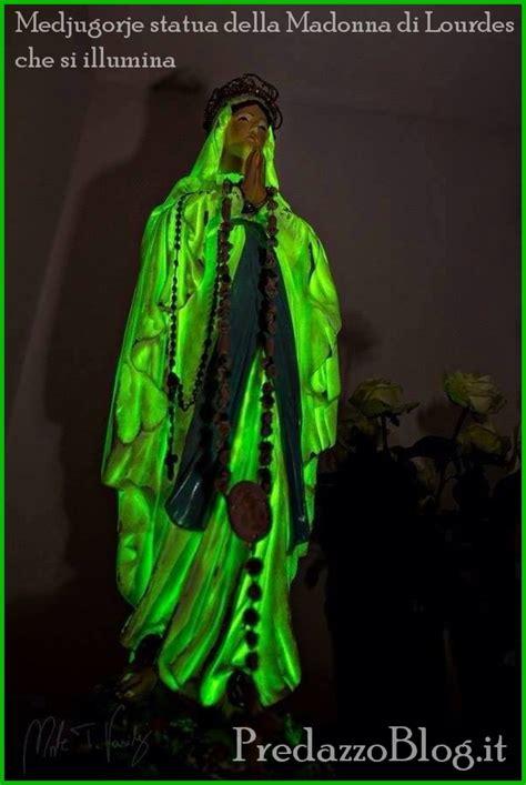 Madonna Medjugorje Illuminata by Medjugorie Messaggio 25 Settembre 2013 E Statua Si