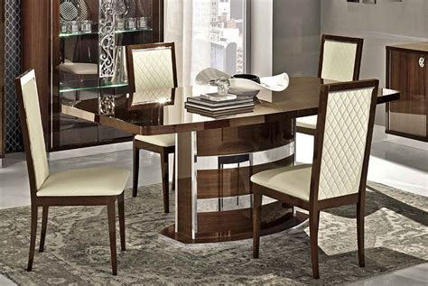 italian dining room tables roma modern italian dining table collection