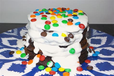 frosted chocolate cake mix pancake recipe family fun journal