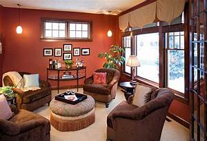 Stunning Warm Colours For Living Rooms With White
