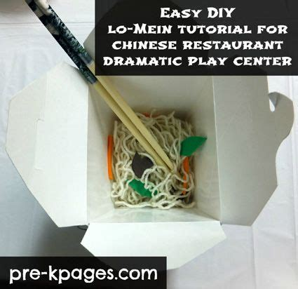 Dramatic Play, Dramatic Play Centers And Chinese
