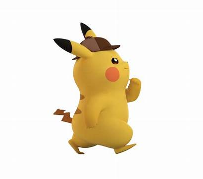 Pikachu Detective Transparent