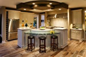 glass kitchen island tremendous center kitchen island ideas with curved glass breakfast bar also counter depth