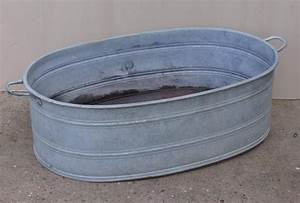 New, 17, Large, Galvanized, Wash, Tubs, In, 2020
