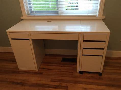 Desk File Cabinet Ikea by Ikea Desk Filing Cabinet And Chair Saanich