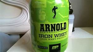 Musclepharm Arnold Iron Whey Protein Powder