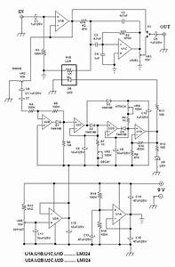Automatic Wah  Quack Effect Circuit With Attack And Decay