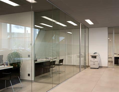 cloison de bureau en verre elite amenagement ameublement agencement decoration