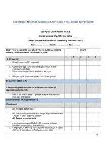 Medical Chart Audit Template