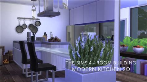 sims  room building modern kitchen sq youtube