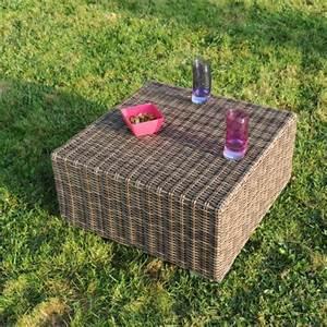 Table Basse Resine Tressee : salon de jardin la boutique desjoyaux ~ Teatrodelosmanantiales.com Idées de Décoration