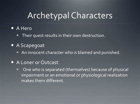 archetypal hero ppt mythological and archetypal criticism powerpoint