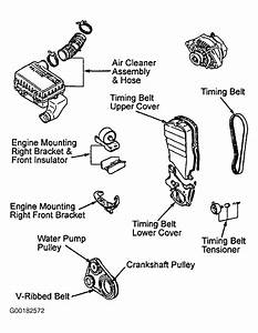 1992 daihatsu rocky serpentine belt routing and timing With daihatsu timing belt
