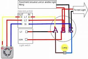 Extractor Fan Wiring Diagram In 2020