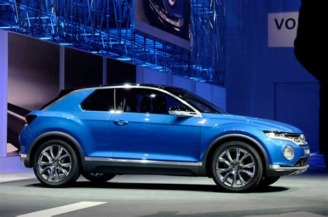 Volkswagen T Roc Concept Side Photo 7