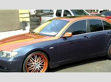 Bmw 745 Two Tone on 22's YouTube
