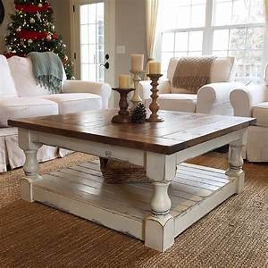 farmhouse coffee table plans with a shutter top With farm coffee table plans