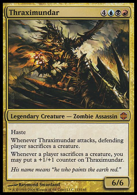 Thraximundar Edh Deck mtg commander deck list 2015 autos post