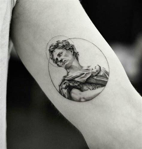 30 Best Tattoos Inspired by Classical Art - TattooBlend