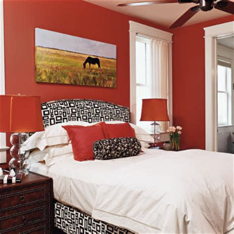 Ideas For Bedrooms Red Bedroom Decor  House Interior
