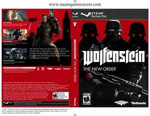 Steam Game Covers: Wolfenstein: The New Order Box Art