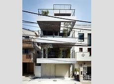 House with balcony – modern concept, implemented by Ryo