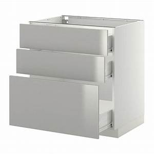 Ikea Spüle Mit Unterschrank : metod f rvara unterschrank mit 3 schubladen wei ~ Watch28wear.com Haus und Dekorationen