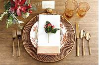 place setting ideas 15 Holiday Place Setting Ideas - How To Decorate