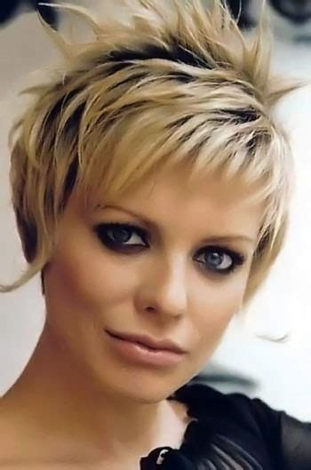 short highlighted haircuts picture number