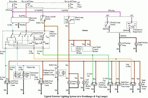 95 Mustang Wiring Diagram by 94 95 Mustang Headlight Wiring Diagram