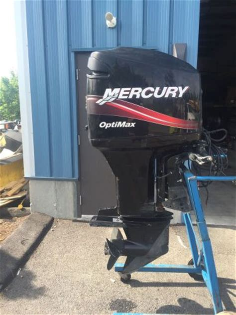 buy 2005 mercury optimax 150 hp 2 stroke 20 quot outboard boat