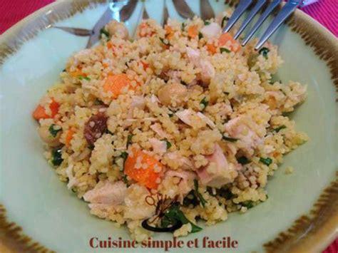 blogs cuisine facile recettes de salade de semoule de cuisine simple et facile