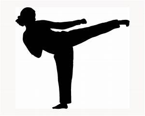 karate girl silhouette | Karate party | Pinterest | Karate ...