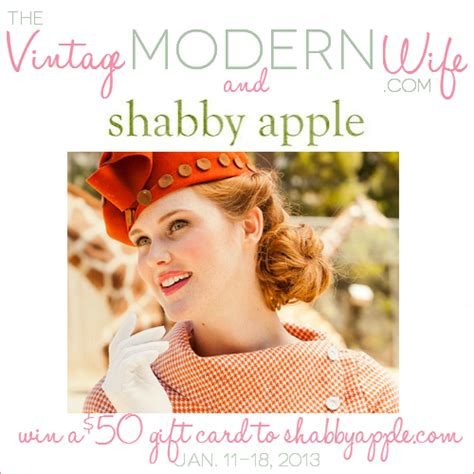 shabby apple shabby apple giveaway the vintage modern wife