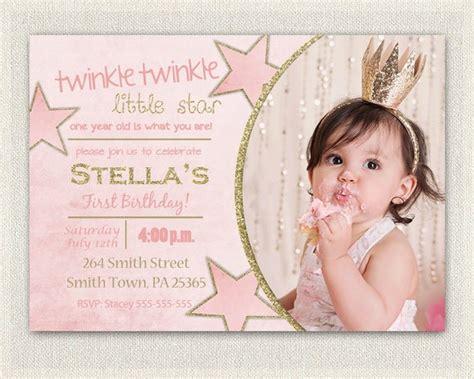 birthday invitation gold  pink princess invitations