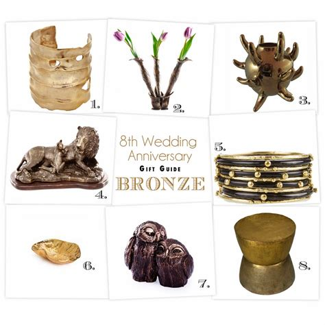 breaking  mold   anniversary gift guide bronze
