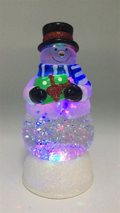 battery operated snow globes christmas battery operated electric led lighted plastic acrylic decoration ornaments water