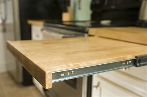 Pull out cutting board   Traditional   Kitchen   nashville
