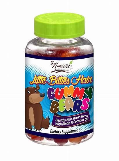 Vitamins Hair Gummy Vitamin Children Bears Nzuri