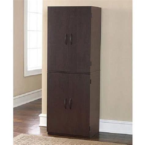 cabinet pantry cupboard storage wood kitchen storage furniture  doors brand  ebay