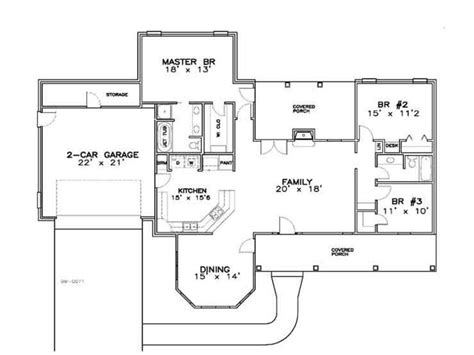 1700 Sq Ft House Plans • 2018 House Plans