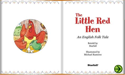 The Little Red Hen Retold By