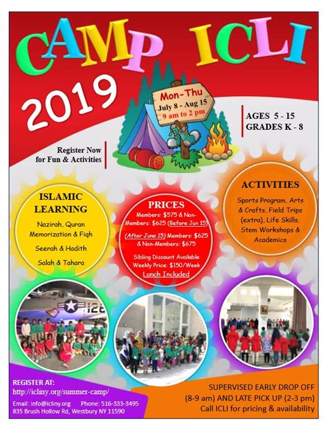 icli summer camp islamic center long island